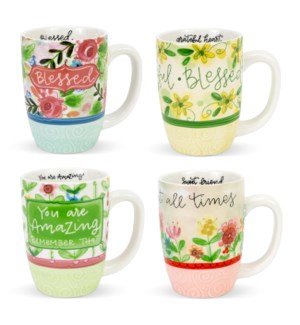Simple Insp. Floral Mugs of Encouragement ETA: 7/2