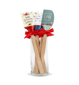 Whimisical Silicone Spatula Collection