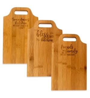 Bamboo Cutting Board Collection ETA: 7/10