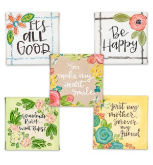 Simple Inspirations Mini Canvas Sign Collection