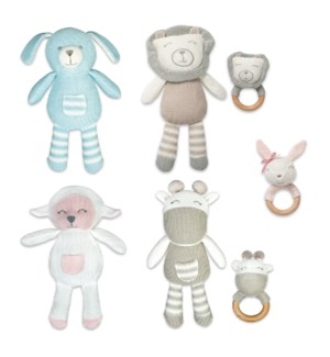Baby Rattle and Lovie Collection