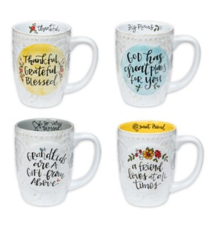 Simple Inspirations Colorful Mug Collection