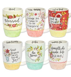 Simple Inspirations Cheerful Mug Collection