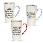 Simply Sassy Latte Mug Collection