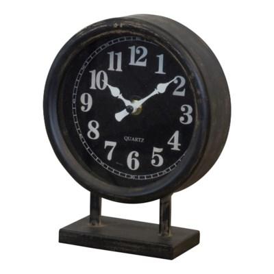 MTL. TABLE CLOCK (16/cs)