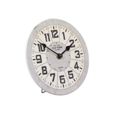 MTL. TABLE CLOCK (48/cs)