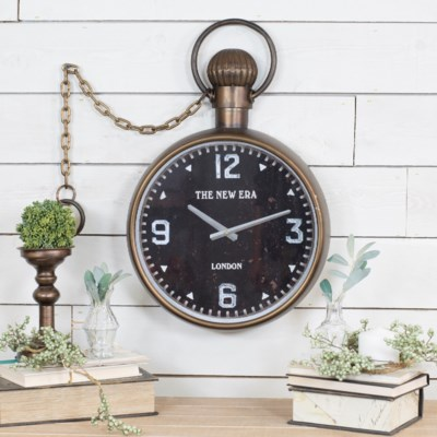 MTL. WALL CLOCK (4/cs)
