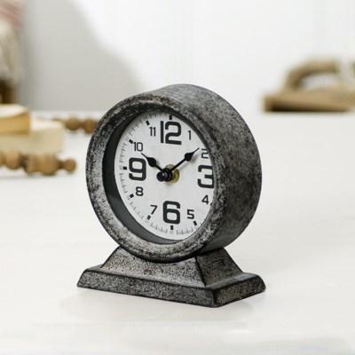 MTL. TABLE CLOCK (36/cs)