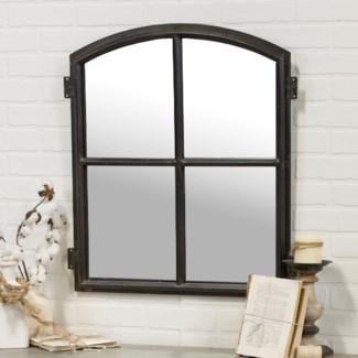  MTL. WINDOW PANE MIRROR (1/cs) 