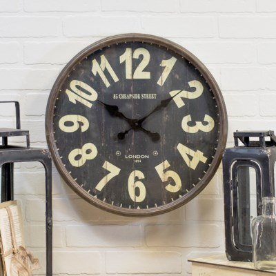 "|MTL. CLOCK ""LONDON""  (1/cs)