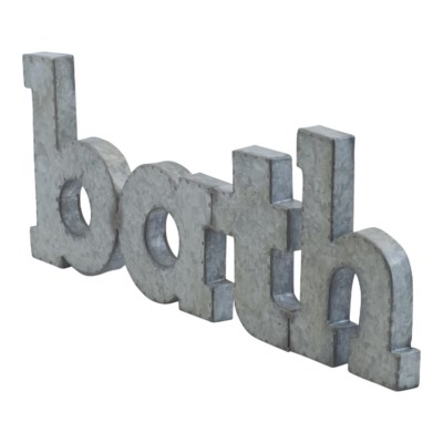 "MTL. ""BATH"" (4/cs)"