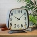 MTL. TABLE CLOCK (2/cs)