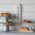 "MTL. ""BAKERY"" SIGN(18/cs)"