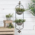 |MTL. WALL PLANTER (1/cs)|