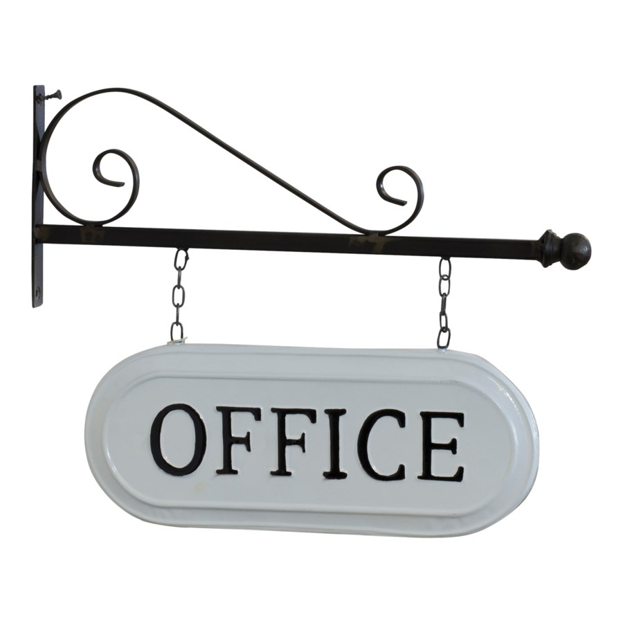 "|MTL. SIGN ""OFFICE""