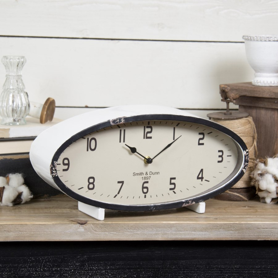 MTL. TABLE CLOCK (1/cs)