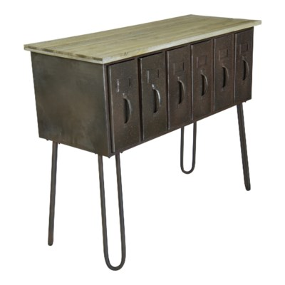 MTL. MULTI DRAWER TABLE (1/cs)
