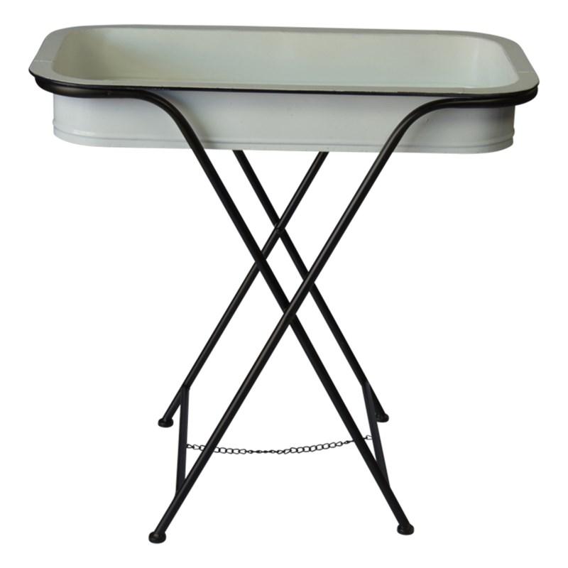 MTL. TRAY TABLES SET/2