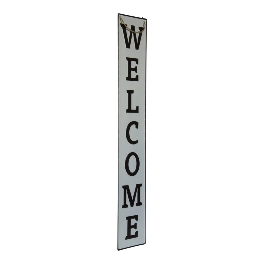 """MTL. WORD ART """"WELCOME"""" (6/cs)"""
