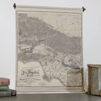 "|HANGING MAP ""LOS ANGELES"" (12/cs)|"