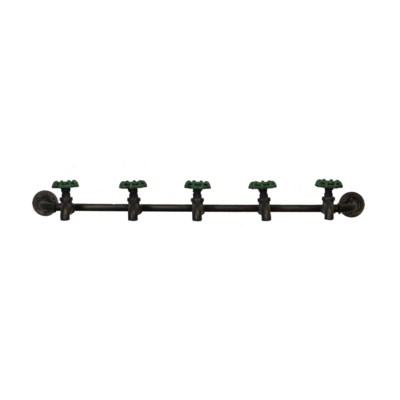 |MTL. 5 HOOK COAT RACK (8/cs)|