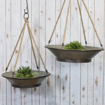 HANGING PLANTER S/2 (1/cs)