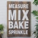 "|WD. SIGN ""MEASURE/MIX"" (4/cs)|"