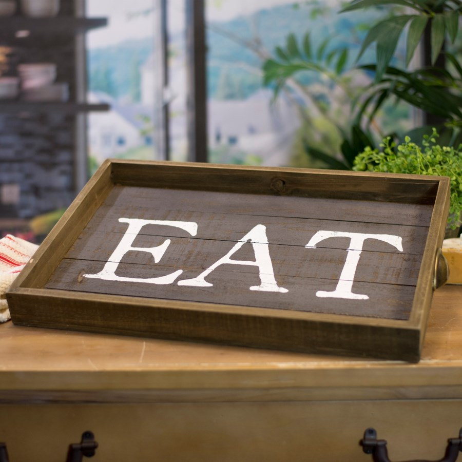 "WD. WORD ART ""EAT"" (6/cs)"