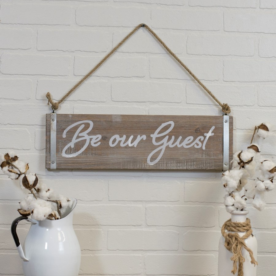 "WD. SIGN ""GUEST"" (8/cs)"