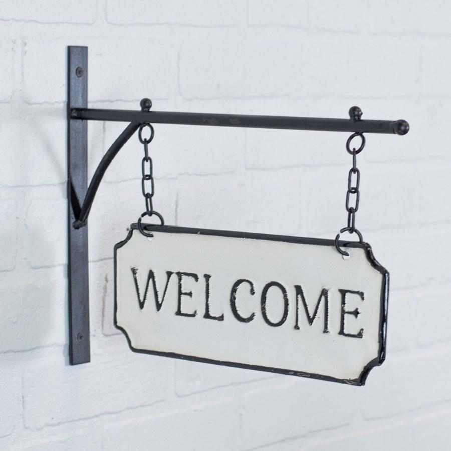 "MTL. SIGN ""WELCOME"" (8/cs)"