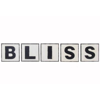 "|MTL. WORDS ""BLISS"" (5/cs)|"
