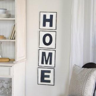 """MTL. WORDS """"HOME"""" (6/cs)"""