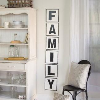 "MTL. WORDS ""FAMILY"" (4/cs)"