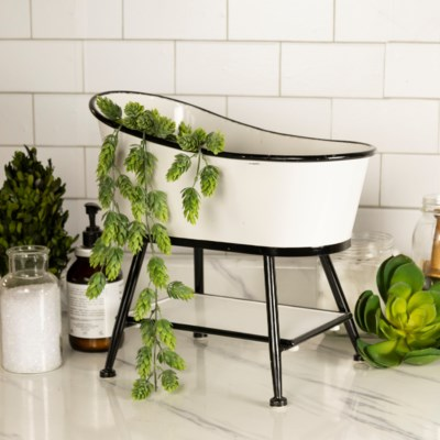 MTL. TUB PLANTER (1/cs) (Available March  2019)
