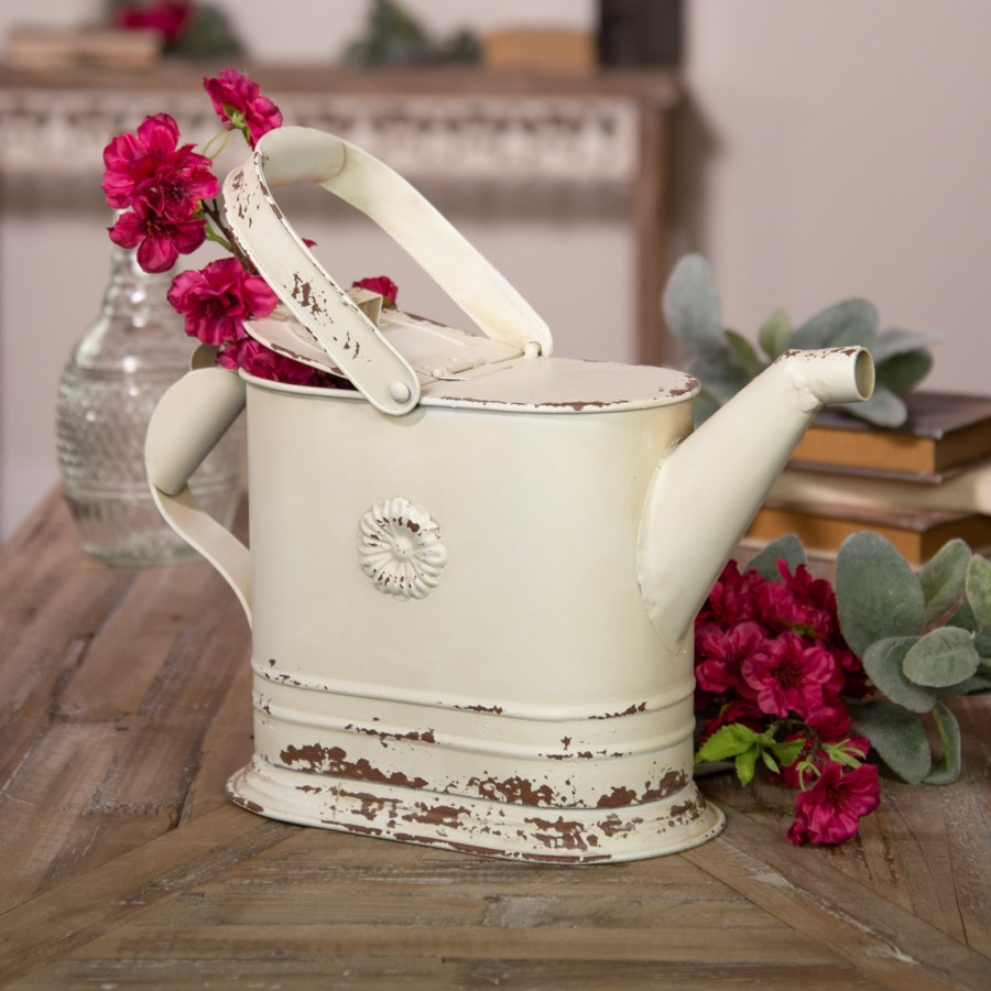 |MTL. WATERING CAN DECOR|