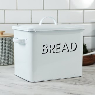 MTL. ENAMELWARE BREAD BOX