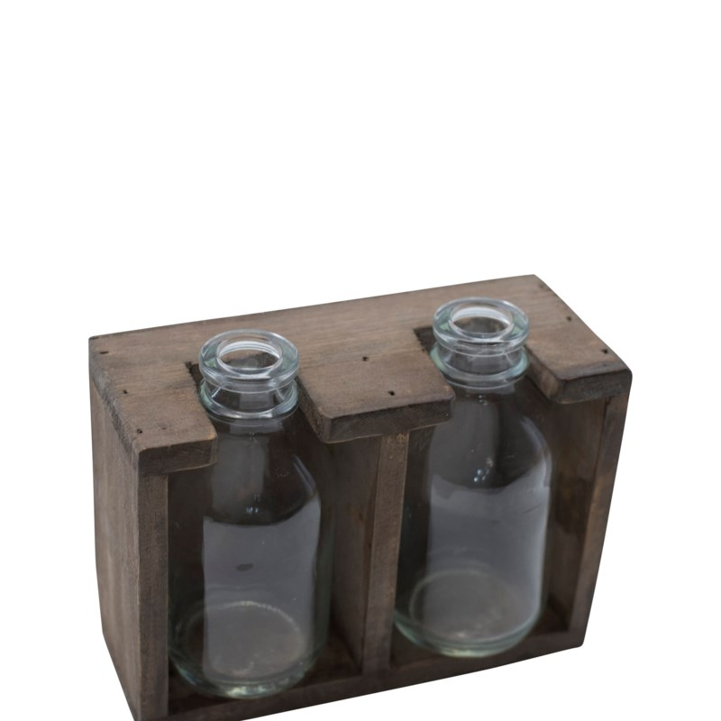 WD. 2 BOTTLE DISPLAY