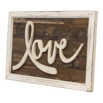 "WD. WORD ART ""LOVE"" (4/cs)"