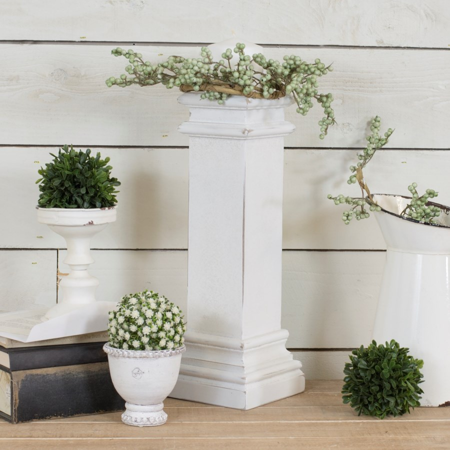 WD. DECORATIVE PEDESTAL (6/cs)