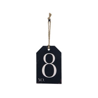 |WD. NUMBER 8 TAG (48/cs)|