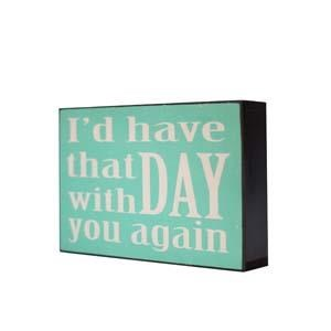 "|WD. ""THAT DAY"" SIGN (24/cs)