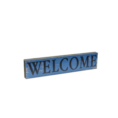 |WD. MAGNET BLUE - WELCOME (48/cs)|