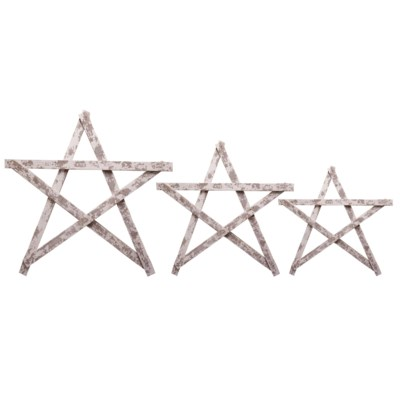 |WD. BARN STAR S/3 (4 sets/cs)|