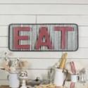 """MTL. """"EAT"""" SIGN (4/cs)"""