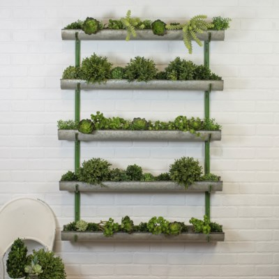 MTL. WALL PLANTER (1/cs)
