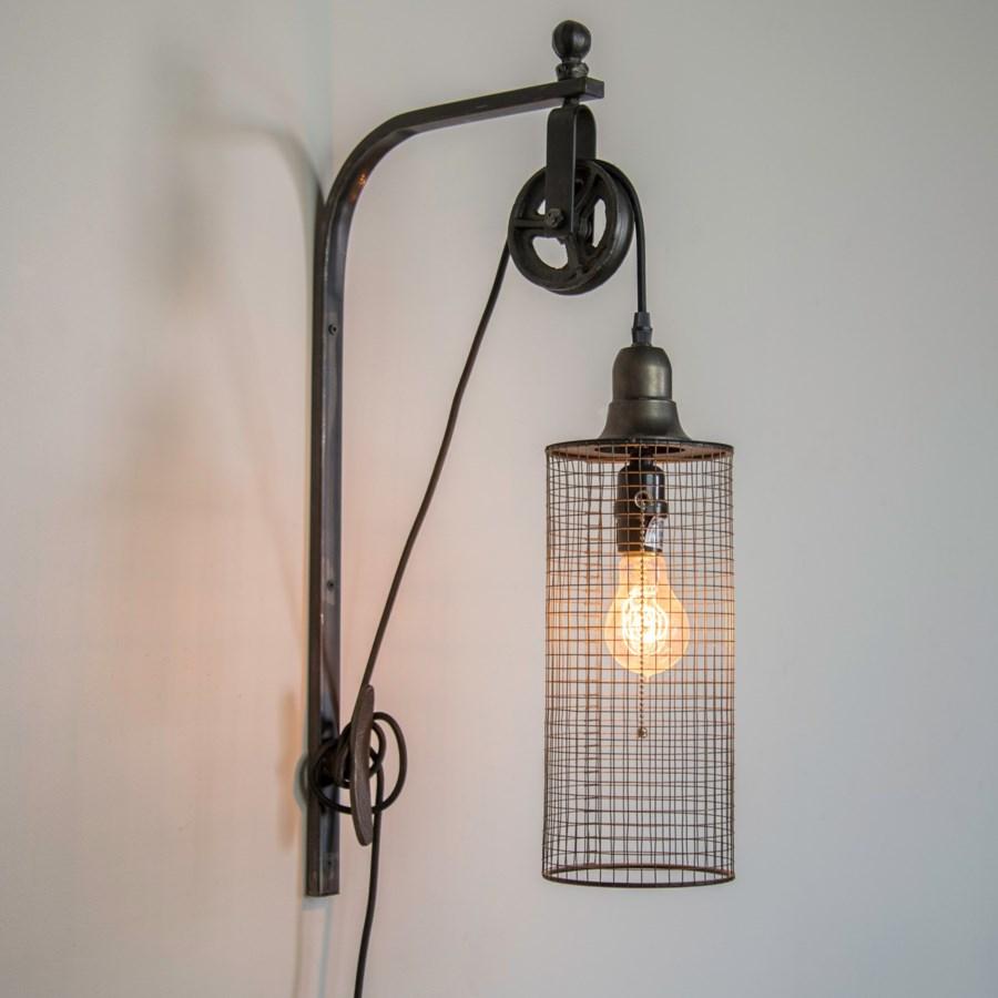 MTL. WALL MOUNTED LIGHT (6/cs)