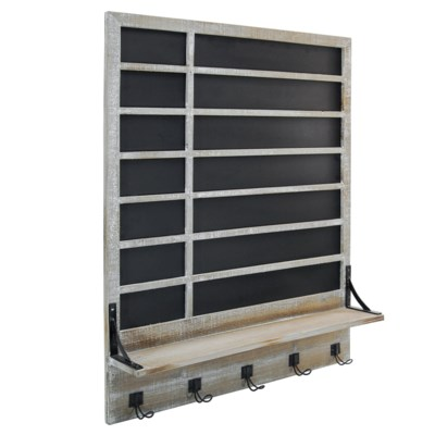 WD. CHALKBOARD W/ SHELF (1/cs)