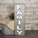 "MTL. WORD ART ""FAMILY"" (4/cs)"