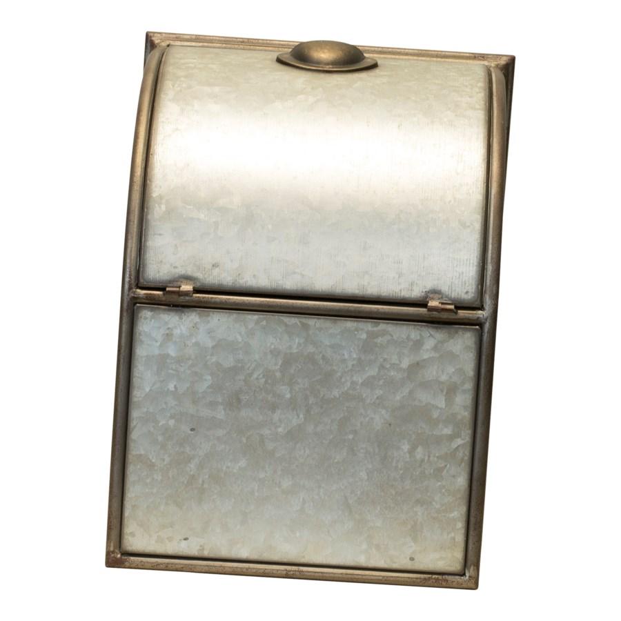 MTL. BREAD BOX (1/cs)