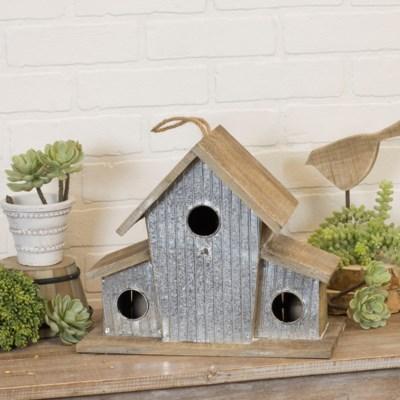 |WD. BIRD HOUSE (1/cs)|